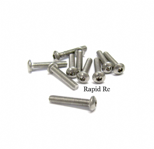 M3x16mm Stainless Steel Socket Button head Bolt